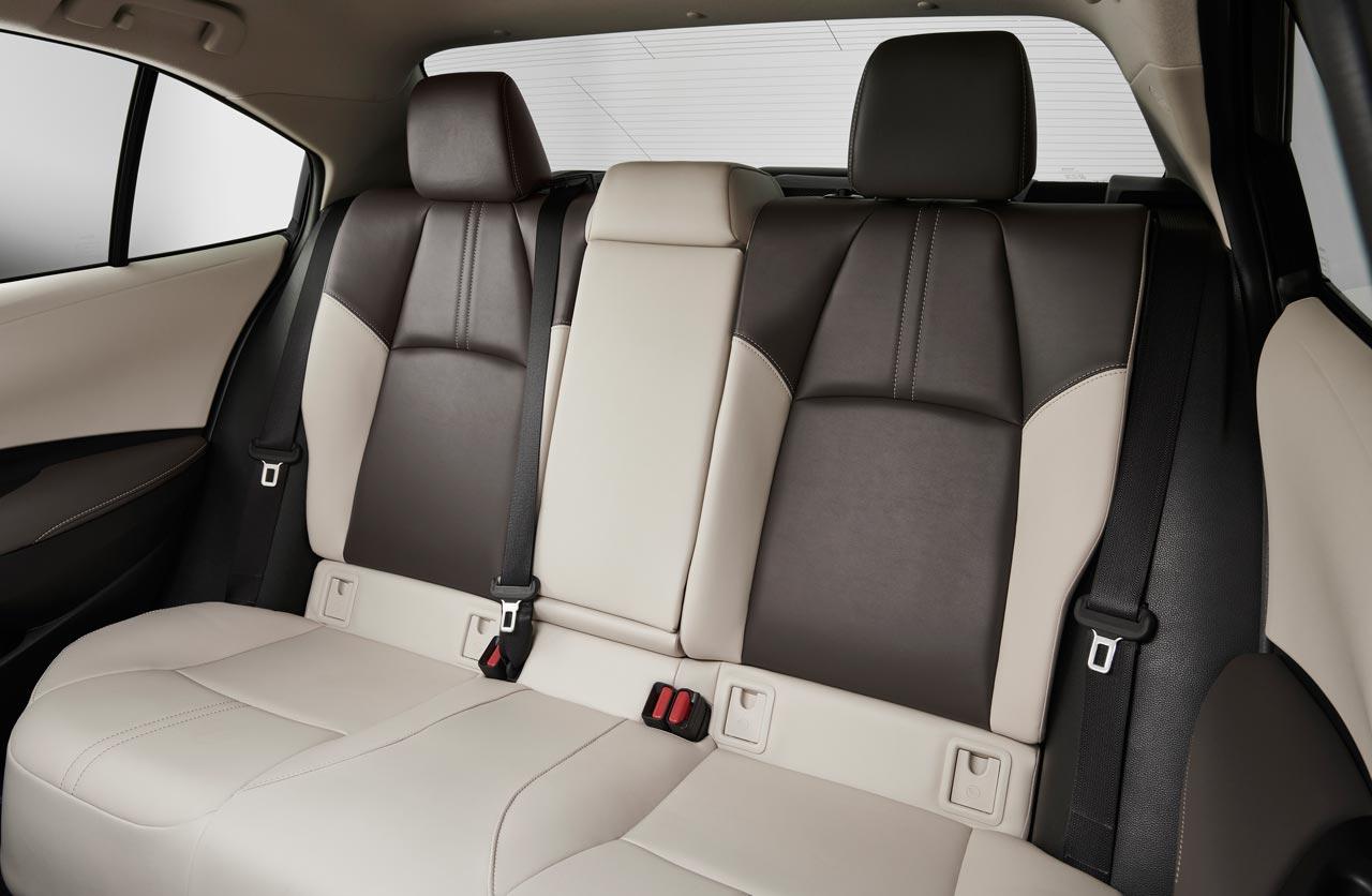 Interior Toyota Corolla 2020 EE.UU.