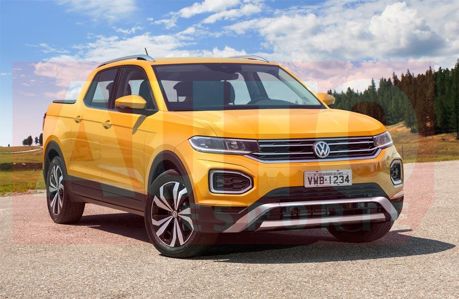 ¿Será así la nueva pick up de Volkswagen?