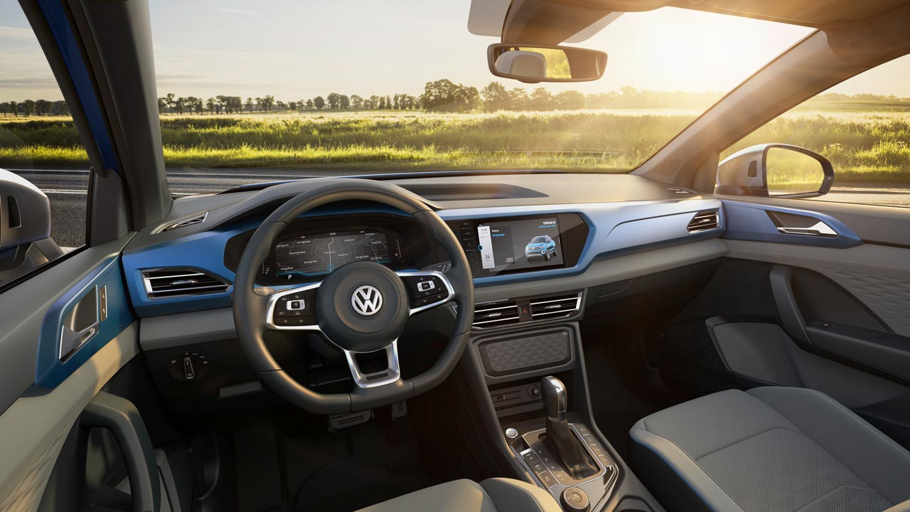 Interior Volkswagen Tarok Concept