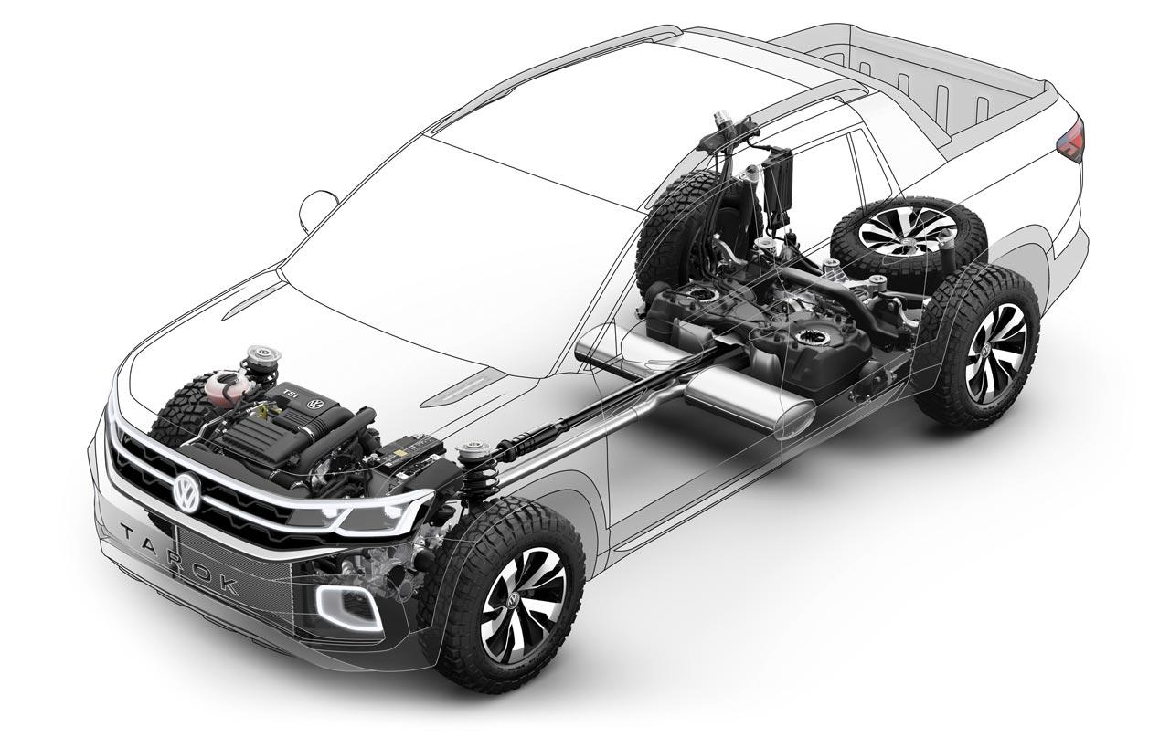 Plataforma Volkswagen Tarok Concept