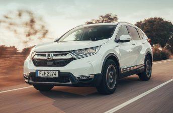 Así es la versión híbrida de la nueva Honda CR-V
