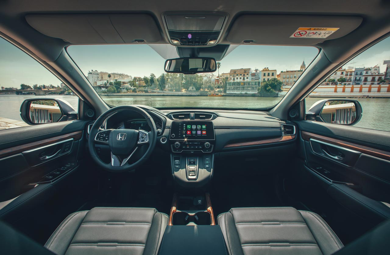 Interior Honda CR-V Híbrida