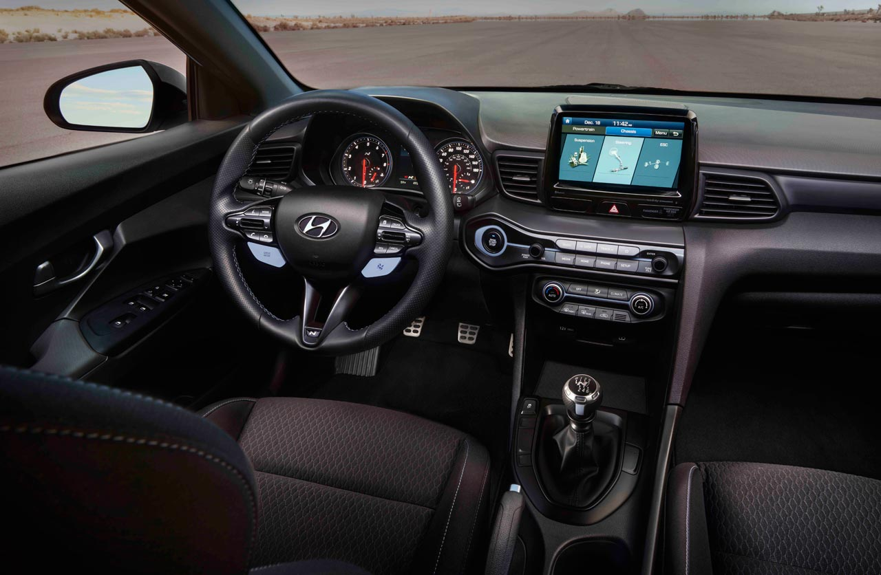 Interior Hyundai Veloster N