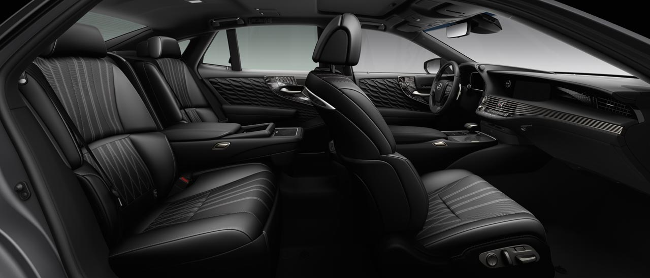 Interior Lexus LS 500h