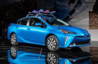 Así es el renovado Toyota Prius