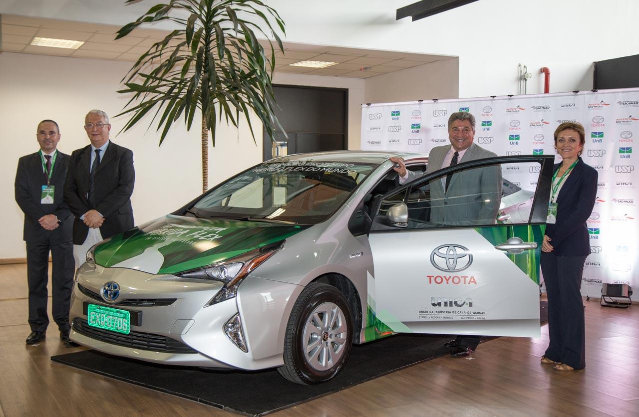 Toyota híbrido Brasil