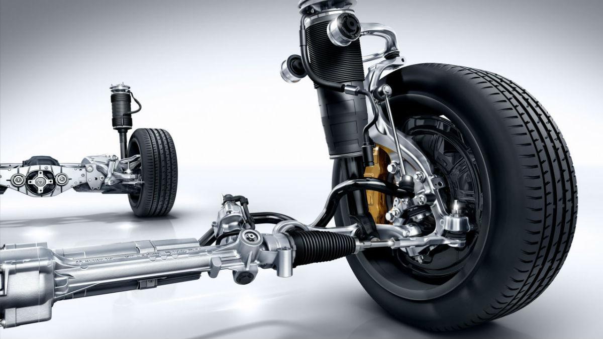 Suspensión - neumáticos