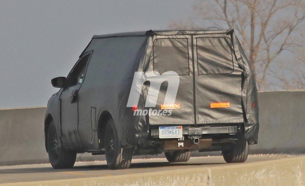 Ford nueva pick up espía