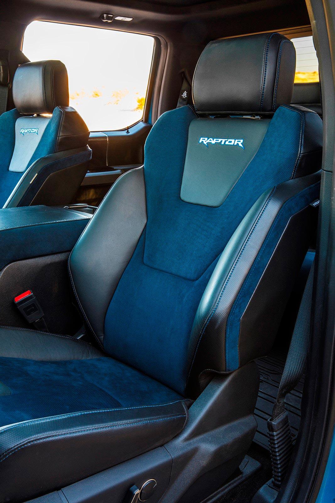 Butacas Ford F-150 Raptor