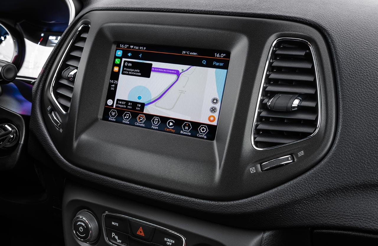 Interior Jeep Compass Sport