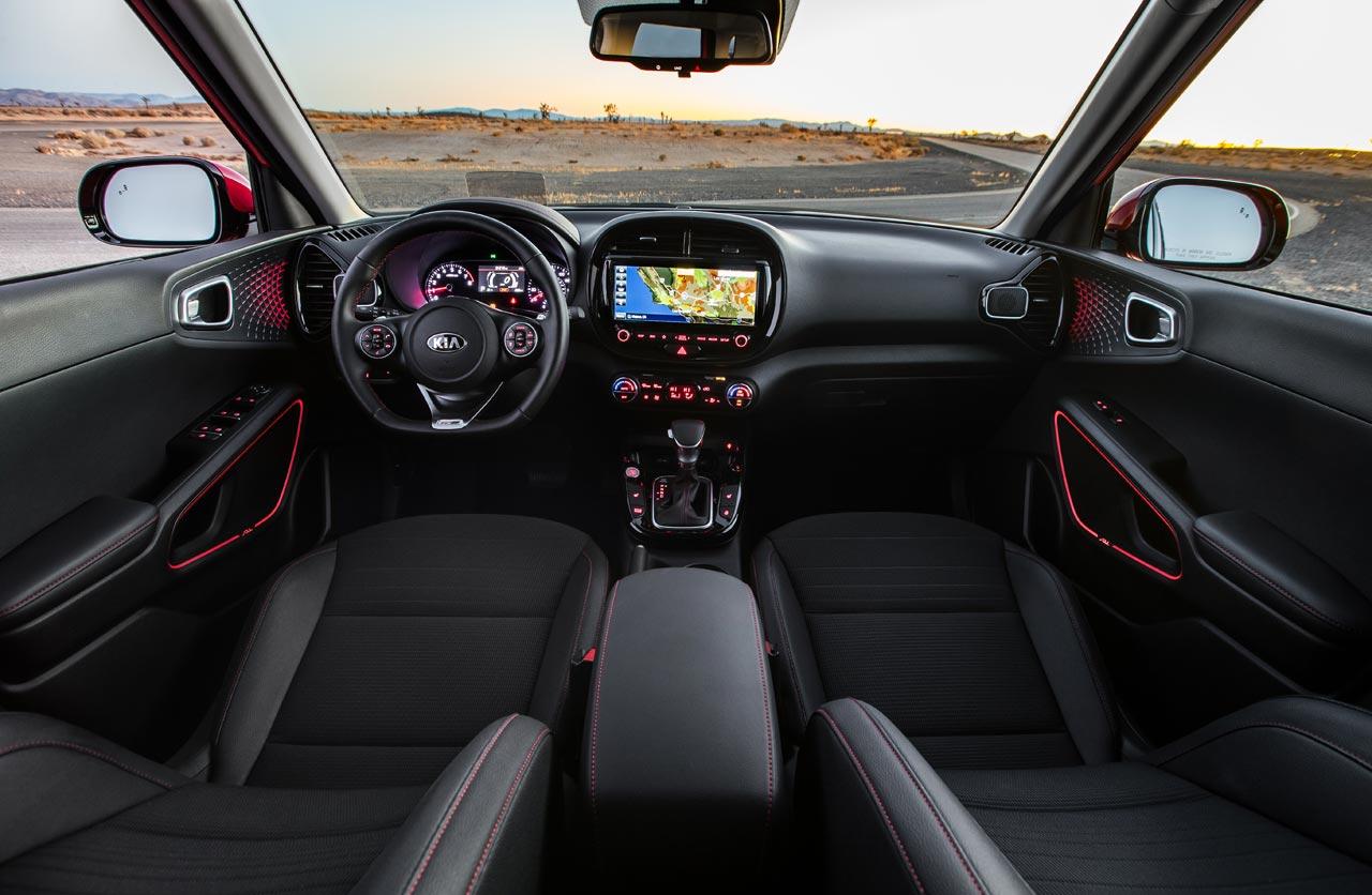 Interior Kia Soul 2020 GT Line