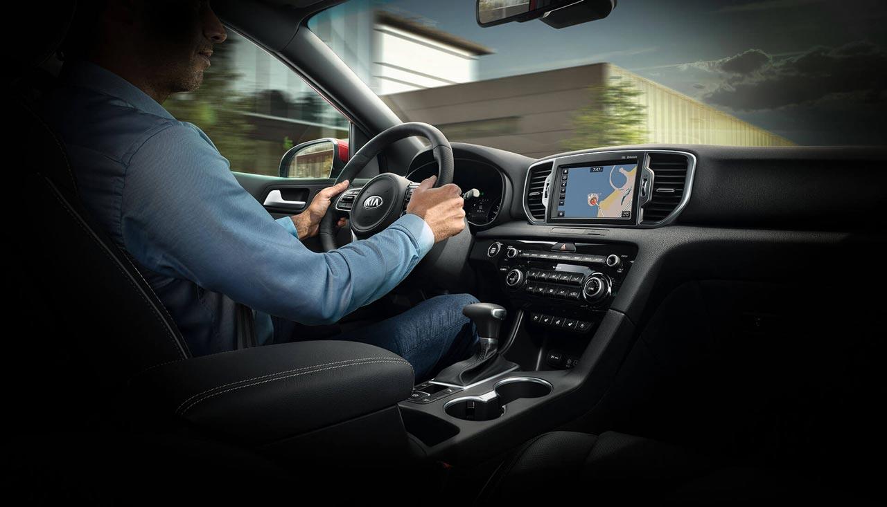 Interior Kia Sportage 2019