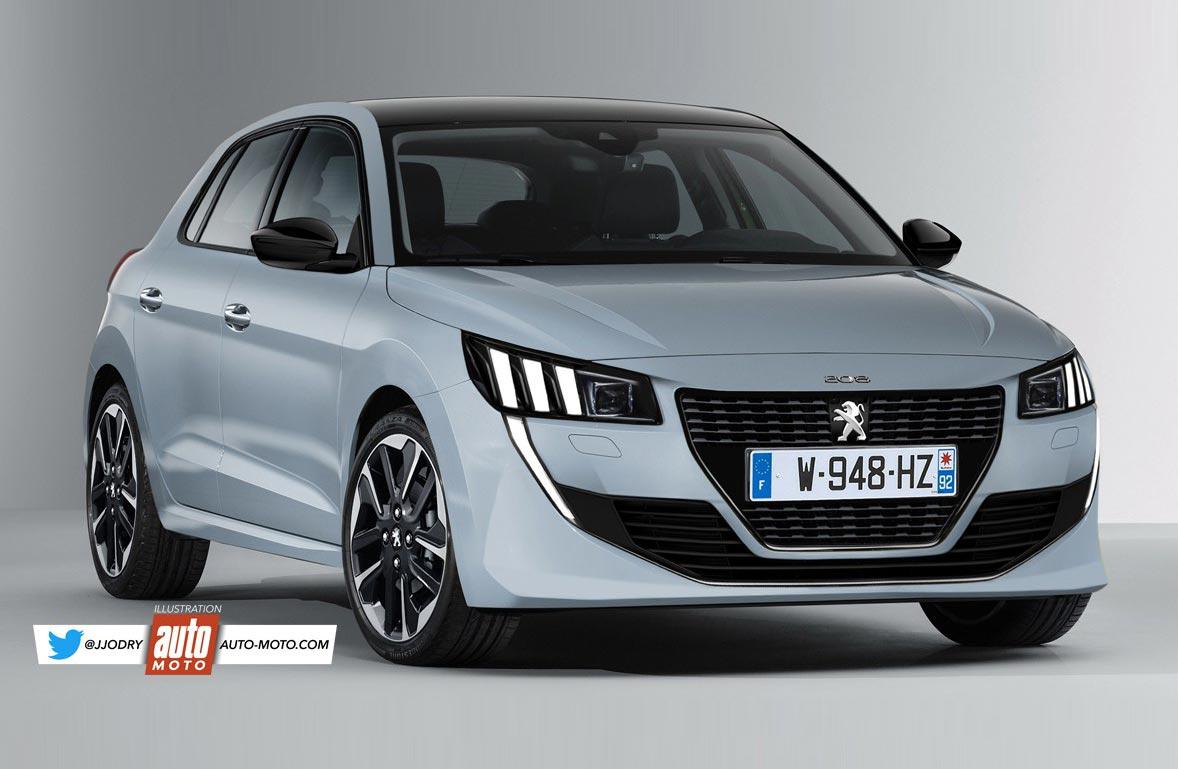 El próximo Peugeot 208, más cerca