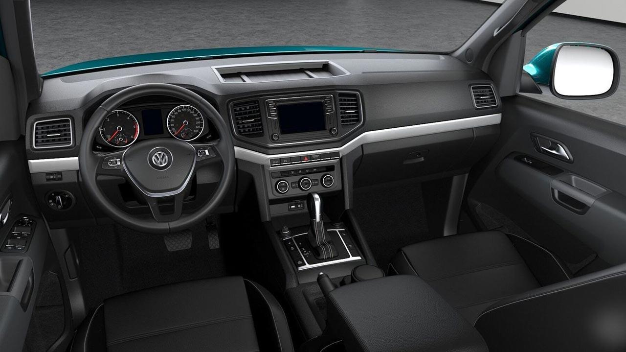 Interior Amarok V6 258 CV
