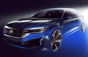 Volkswagen anticipa un nuevo Passat