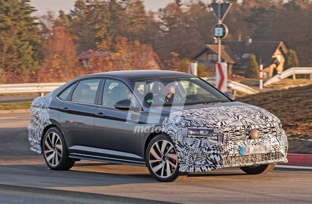 El nuevo Volkswagen Vento GLI va tomando forma
