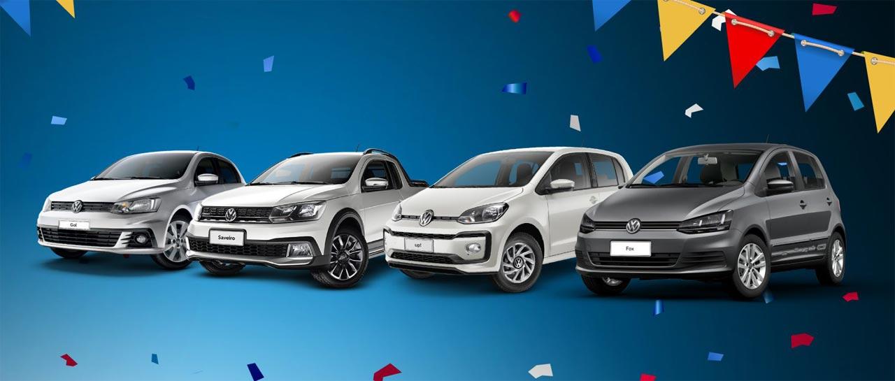 Modelos Volkswagen en promo