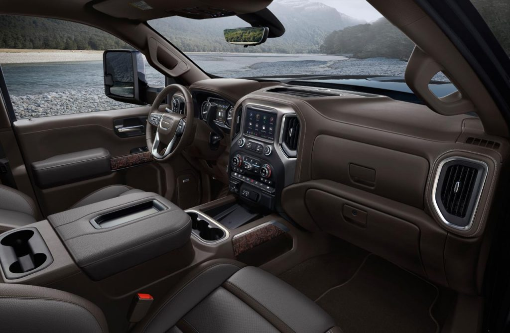 2020-GMC-Sierra-2500HD-Denali-interior - Mega Autos