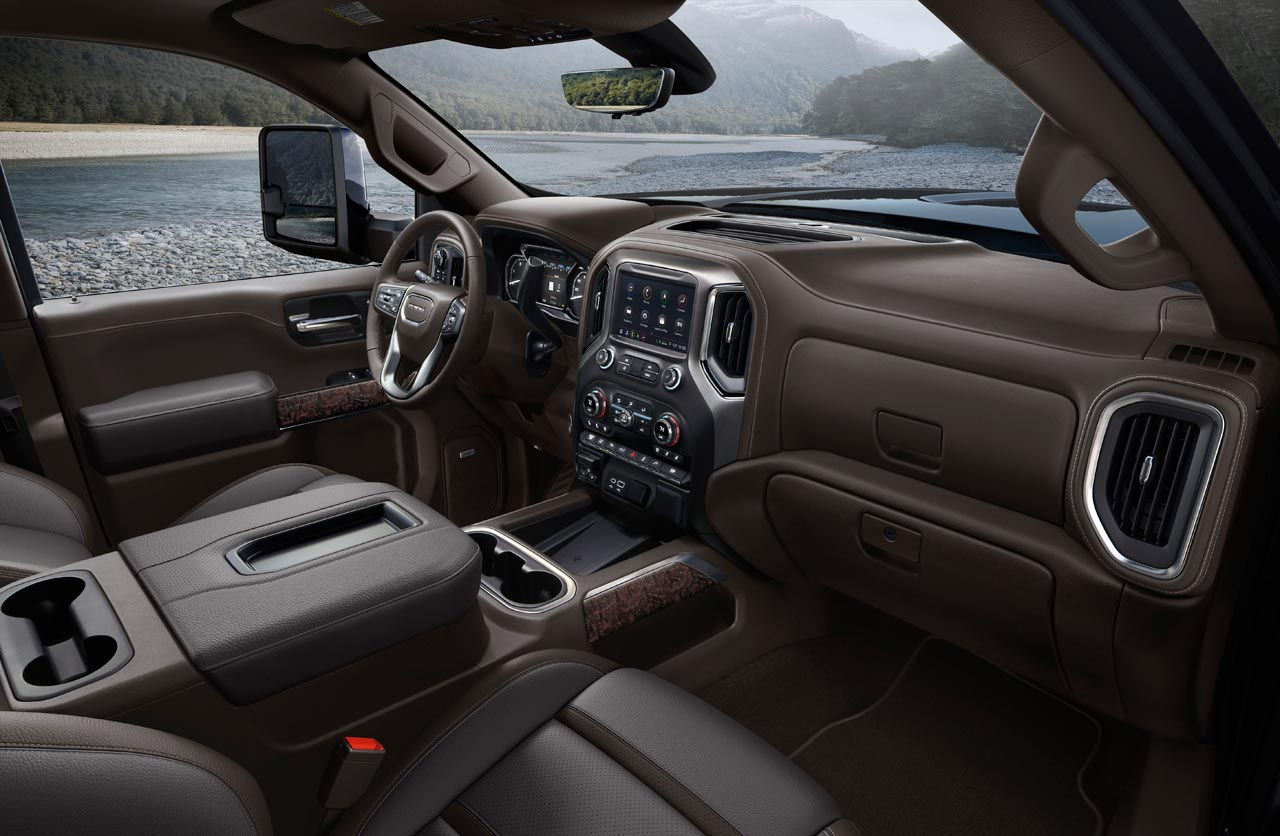 Interior GMC Sierra HD 2020