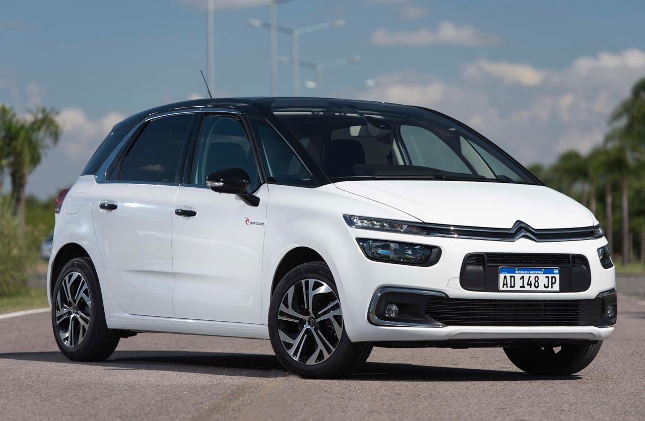 Citroën ya vende el C4 SpaceTourer Rip Curl