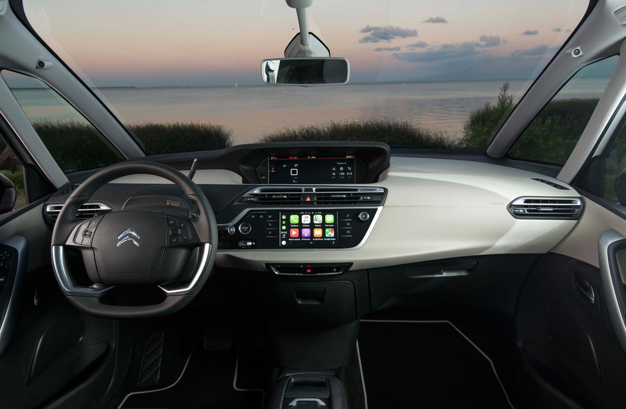 Interior Citroën C4 SpaceTourer Rip Curl
