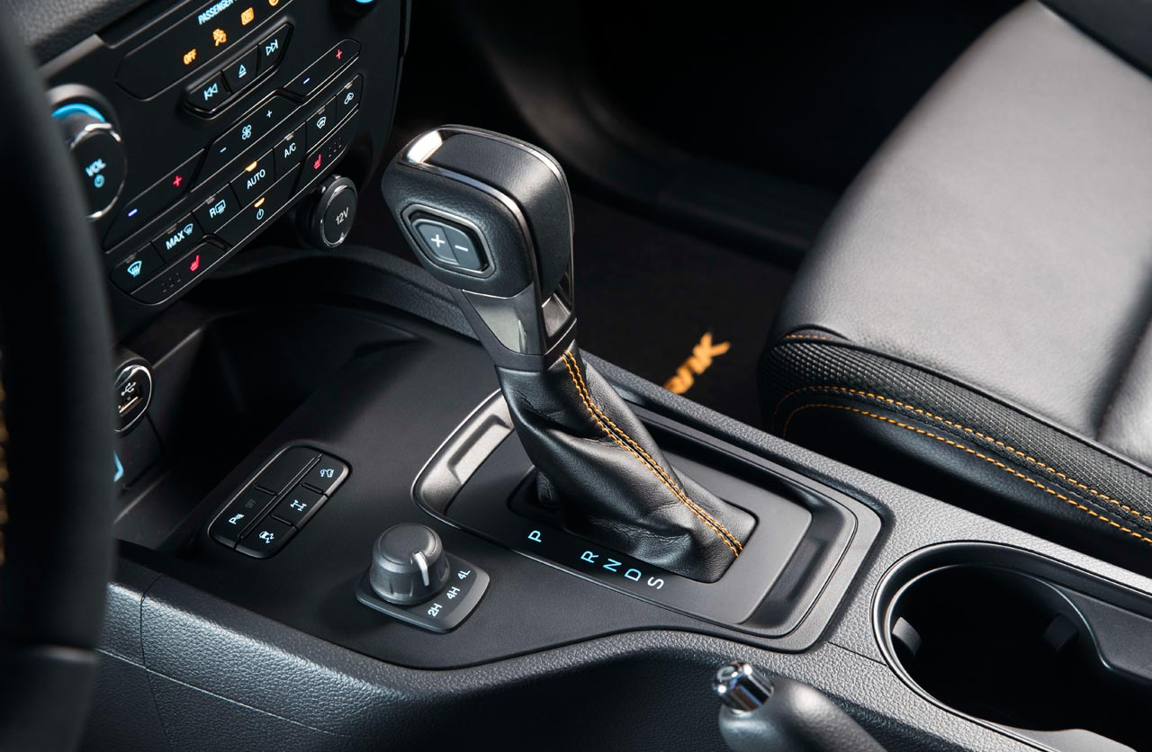 caja automática Ford Ranger 2019 WIldtrak Europa