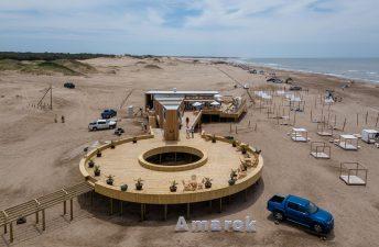 Cómo es el parador sustentable de Amarok en Pinamar