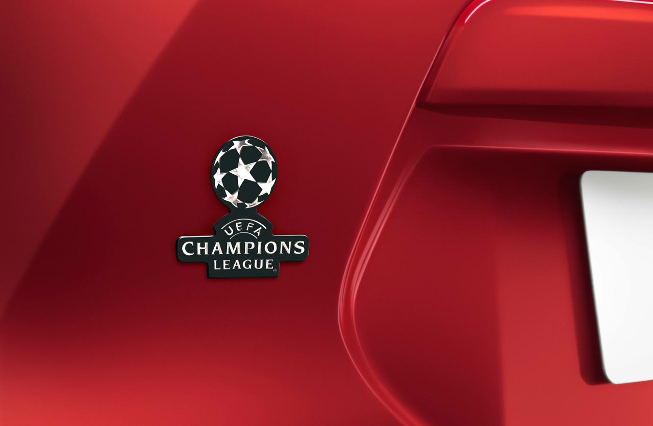 Nissan Kicks UEFA Champions League edition