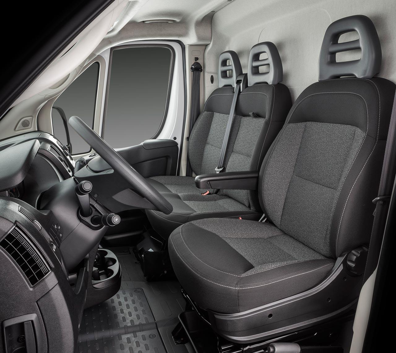 Interior Nuevo Fiat Ducato