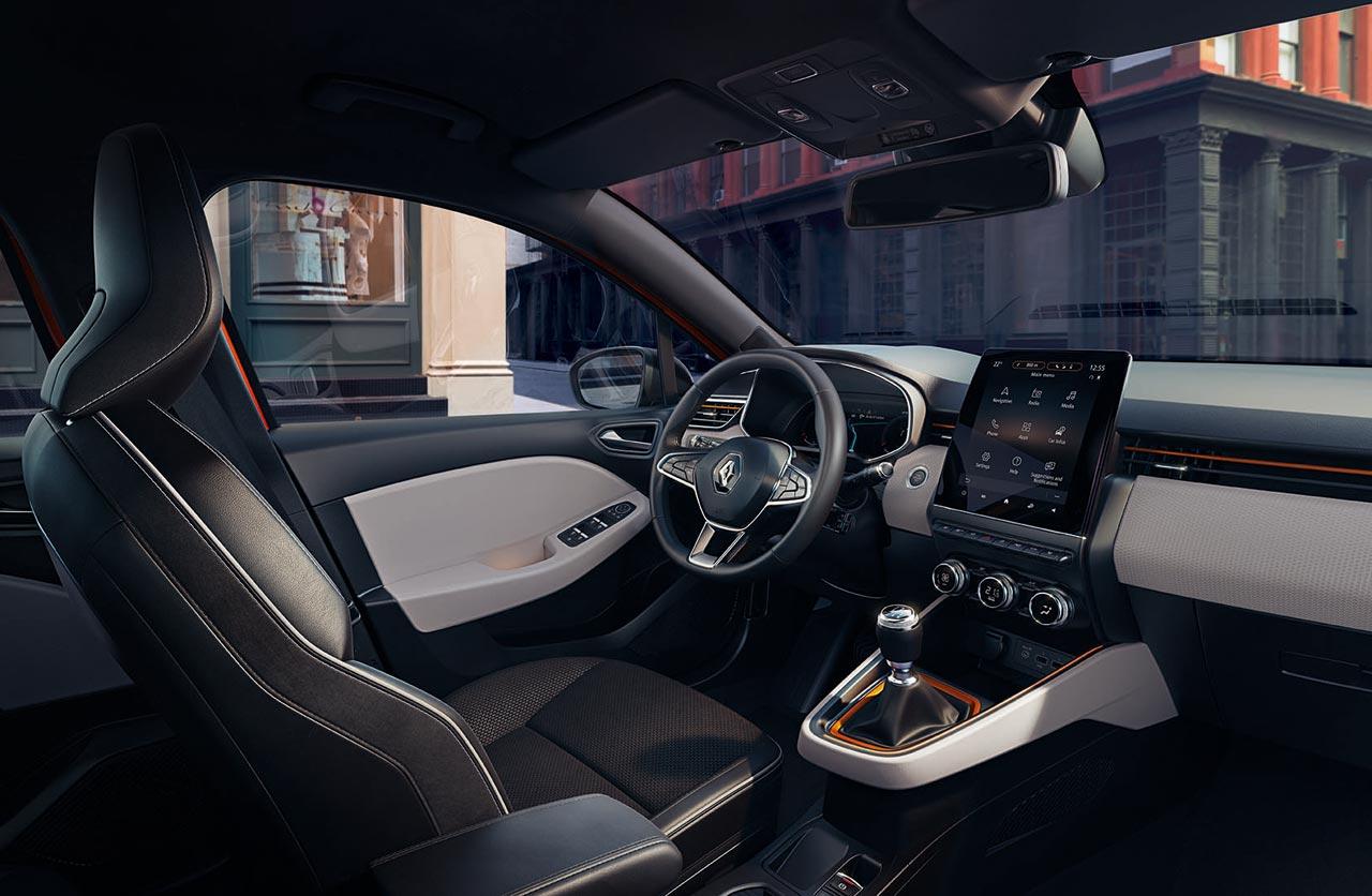 Interior Nuevo Renault Clio 2019