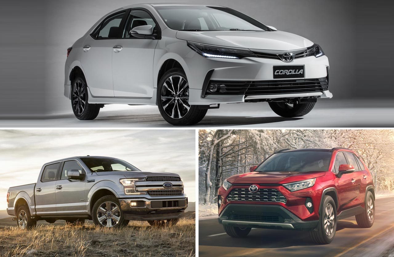 2018: cuáles fueron los autos más populares en el mundo