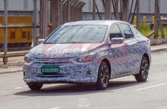 El próximo Chevrolet Prisma, con menos camuflaje