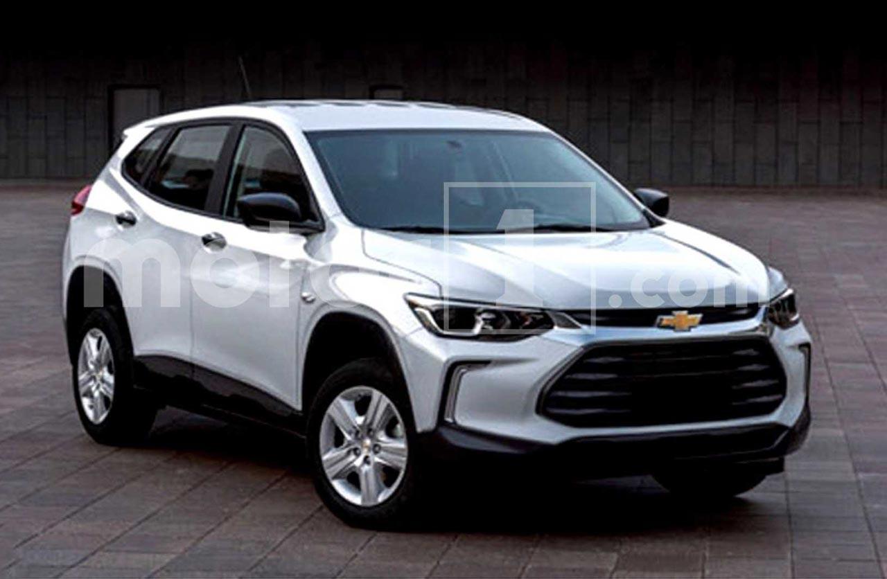 La nueva Chevrolet Tracker, descubierta antes de tiempo