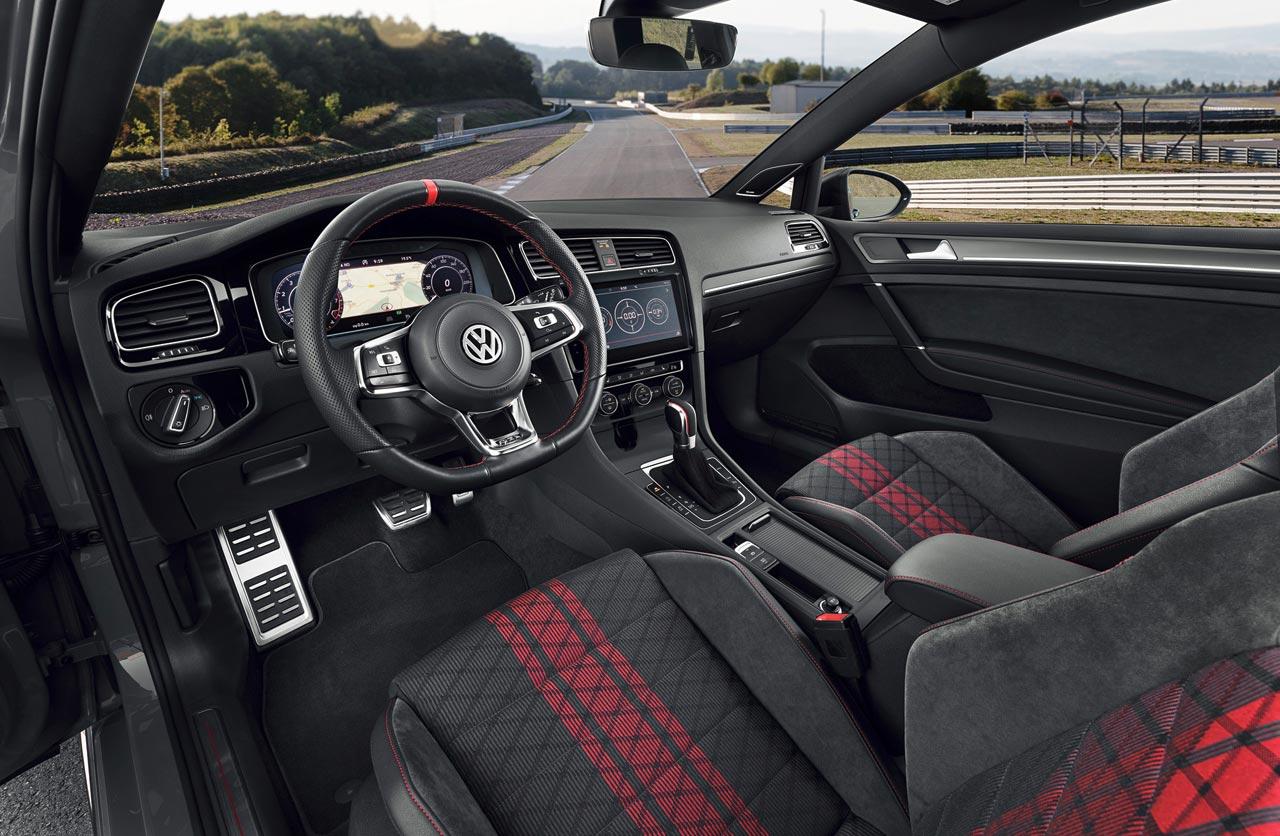 Interior VW Golf GTI TCR