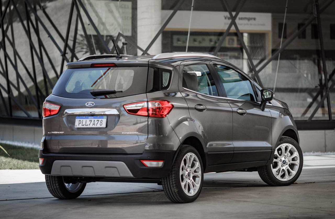 Ford EcoSport sin auxilio externo