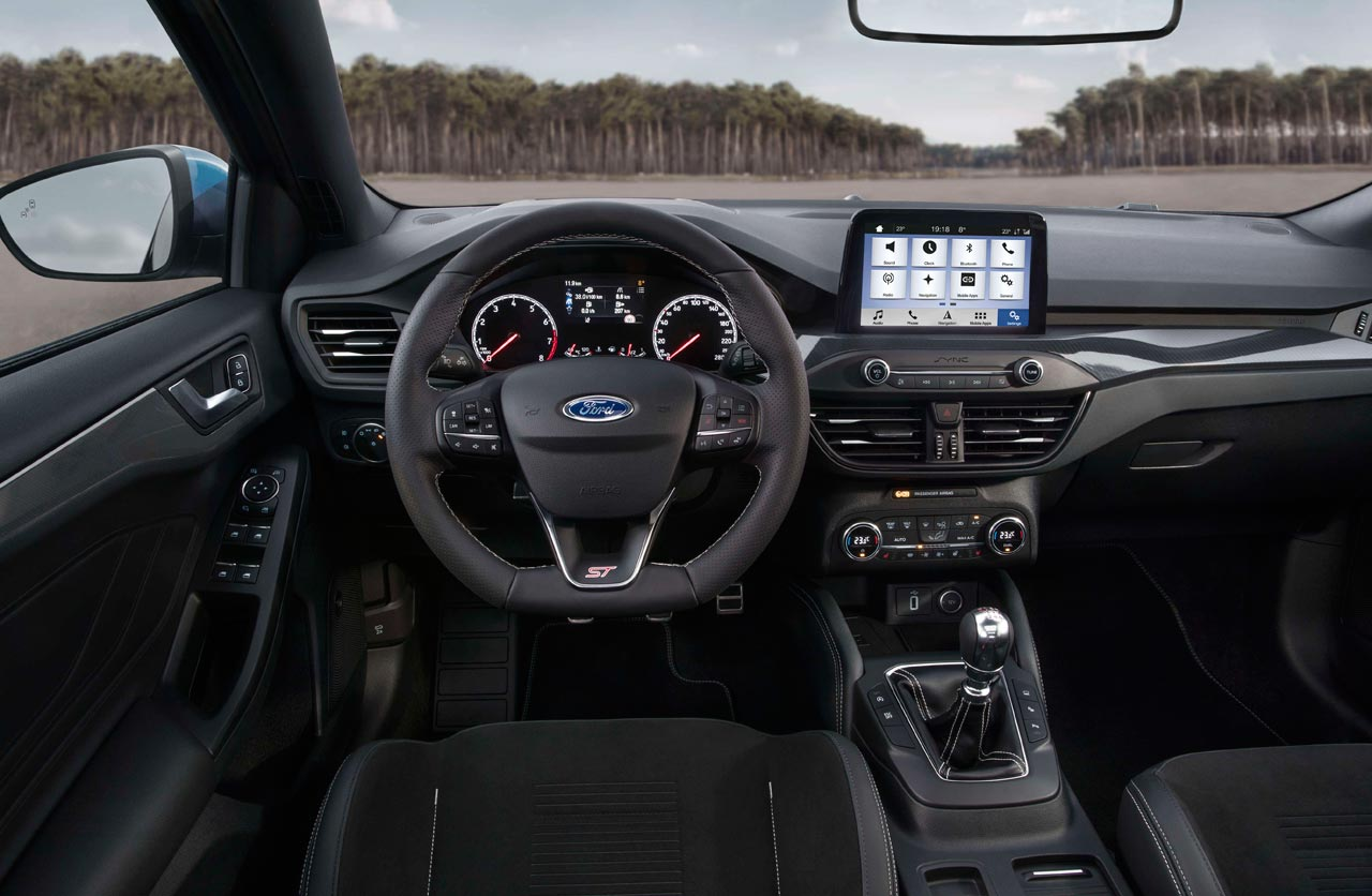 Interior Ford Focus ST 2019