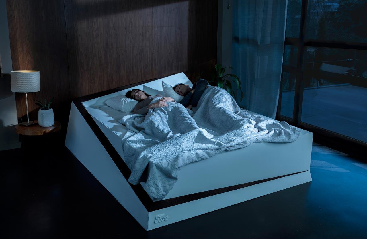Ford desarrolló una cama inteligente con tecnología de