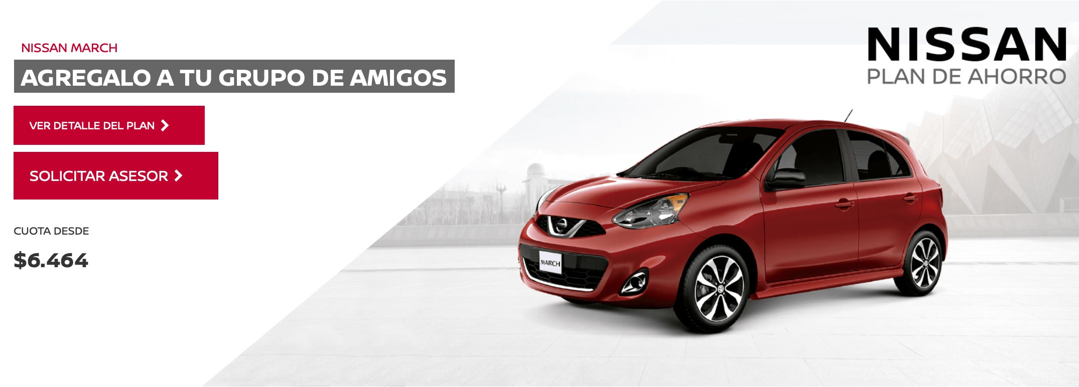 Plan de ahorro Nissan March