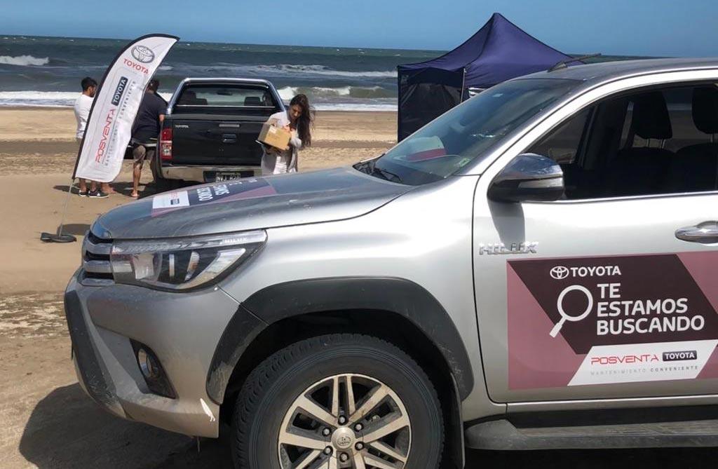 Toyota lleva su Servicio Técnico Móvil a la costa argentina