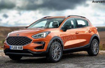 Ford prueba un nuevo SUV pequeño en Europa