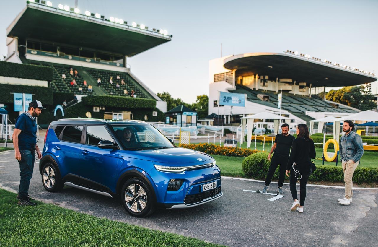 El nuevo Kia Soul EV estuvo de paseo por Argentina
