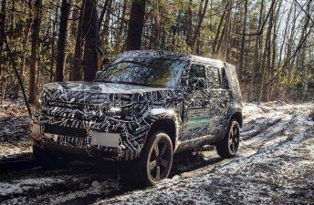 El regreso del Land Rover Defender