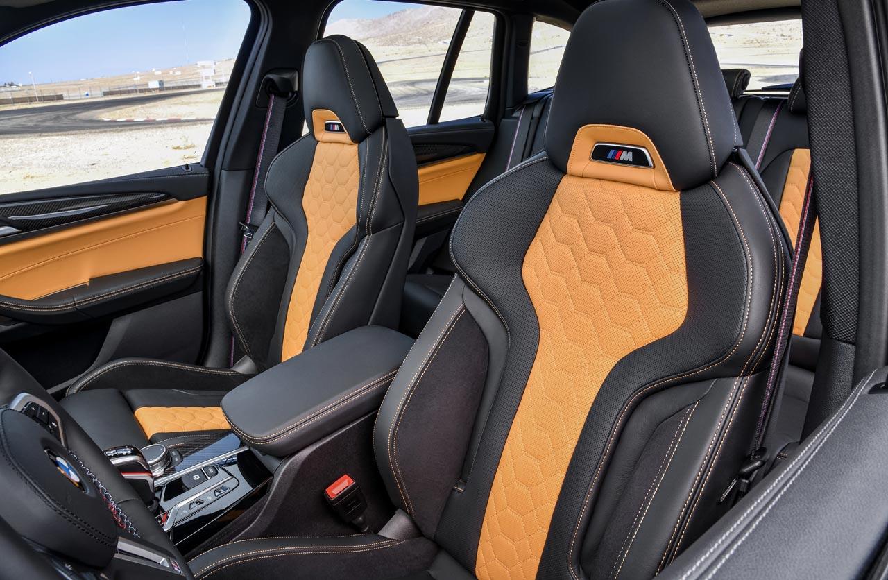 Butacas BMW X3 M