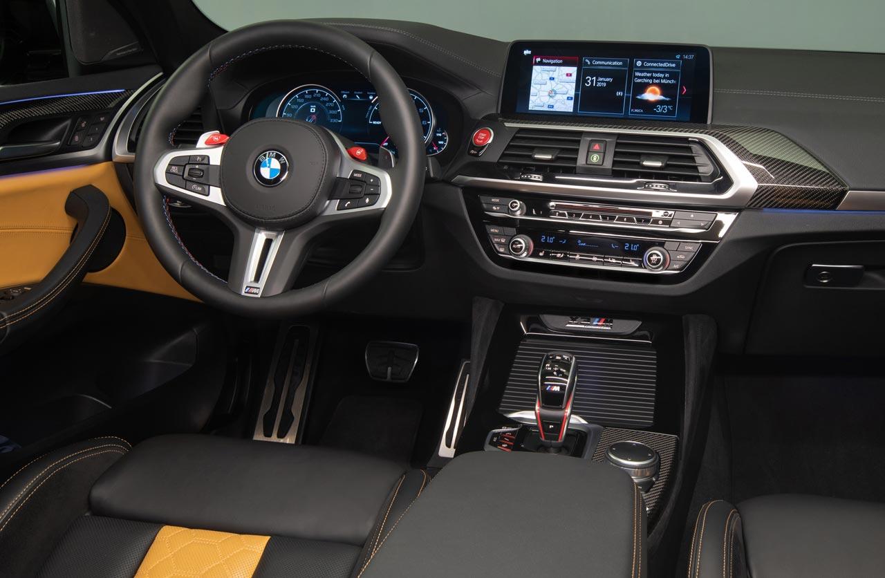 Interior BMW X3 M