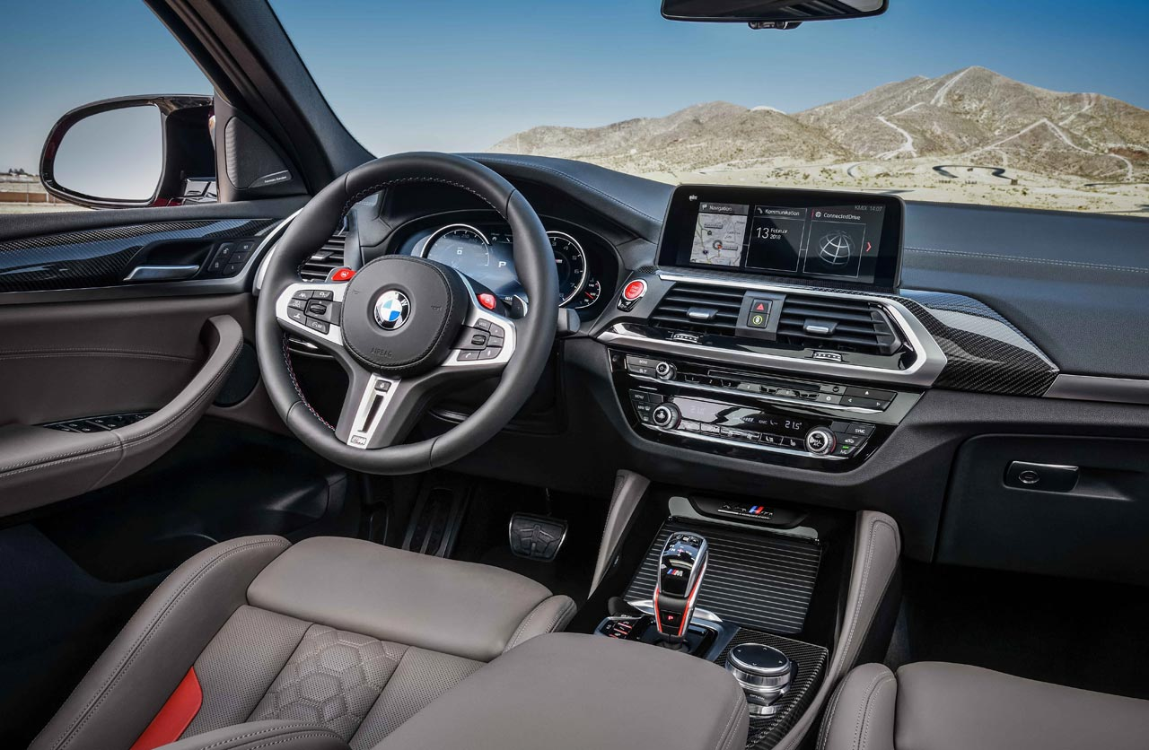 Interior BMW X4 M