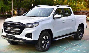 La pick up mediana de Peugeot, descubierta en China