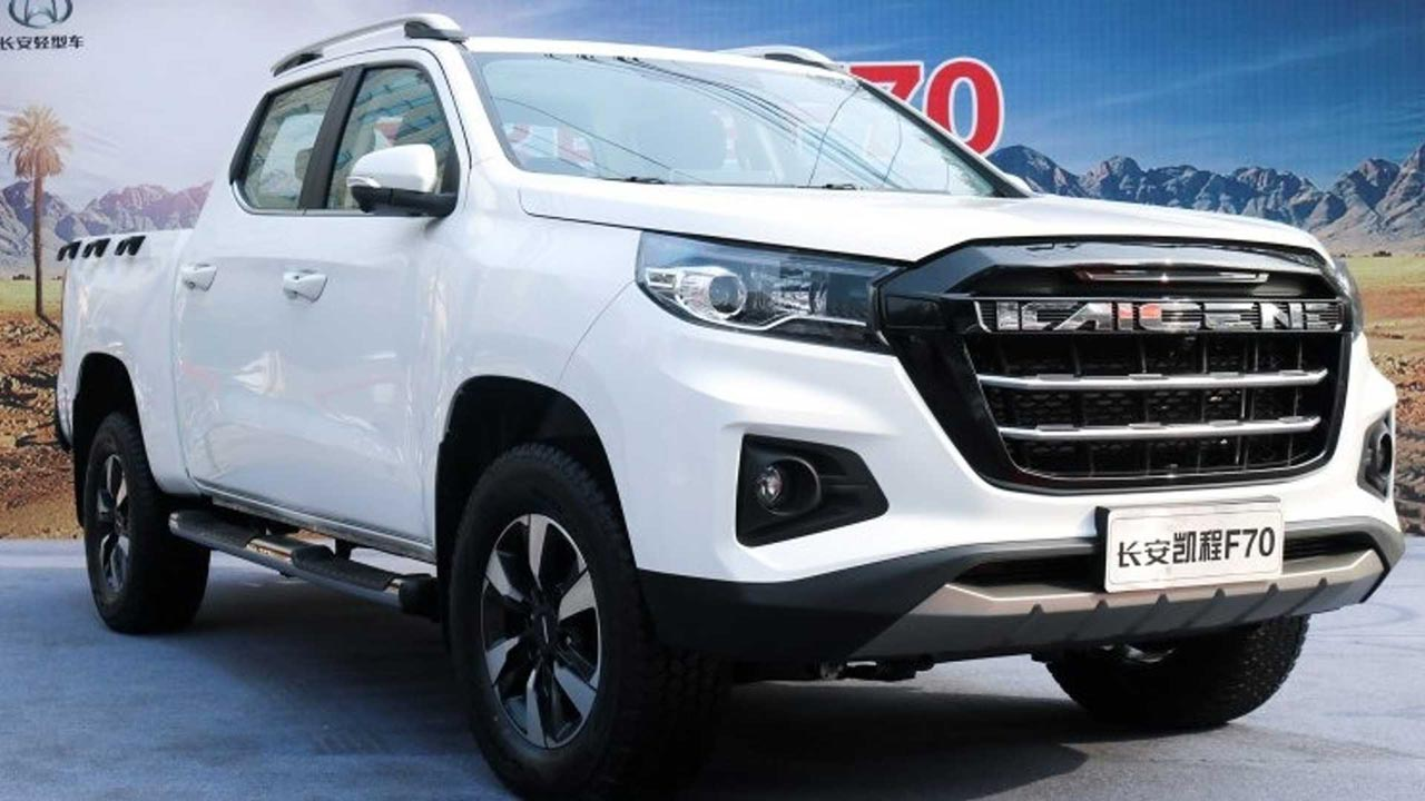 Peugeot pick up (Kaicheng F70 de Changan)