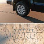 """""""The Sand Ad"""" by Volkswagen Amarok"""