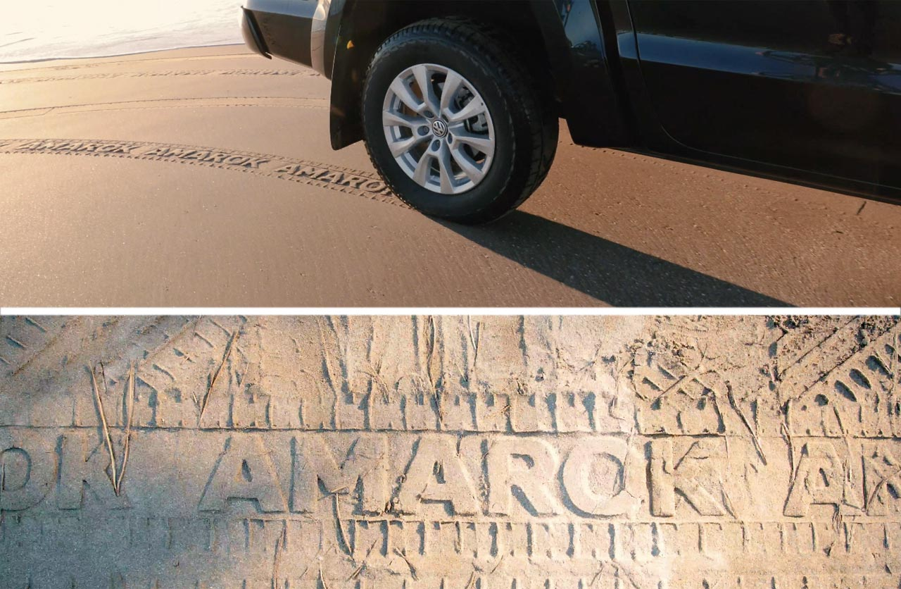 """The Sand Ad"" by Volkswagen Amarok"