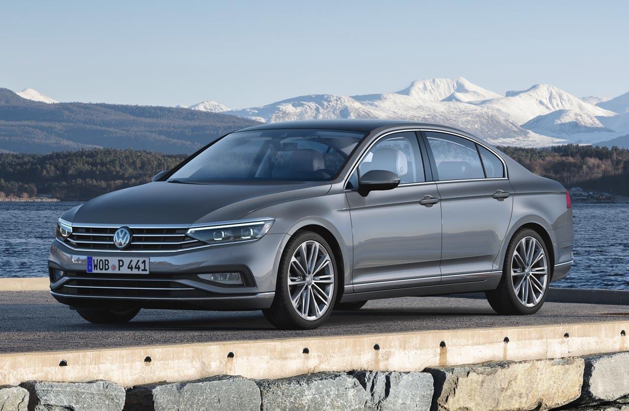 Volkswagen actualizó el Passat europeo